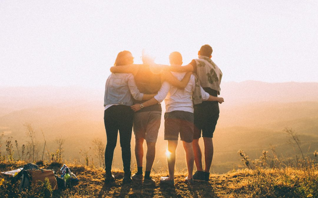 Teambuilding na horách