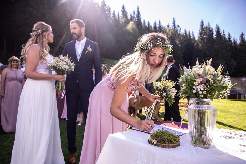 Svatba v Krkonoších